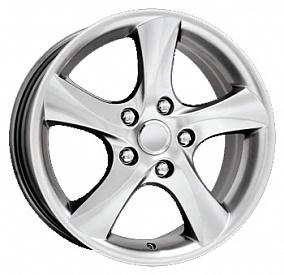 Диск КиК KC395 (Mazda-6) 16x7,0 5x114,3 ET55 67,1 сильвер