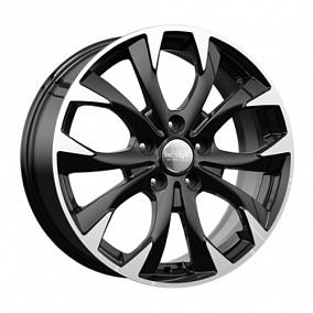 Диск КиК реплика KC740 (Mazda CX5) 17x7,0 5x114,3 ET50 67,1 алмаз черный
