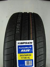 Шина Kapsen PracticalMax H/P RS26 255/55 R18 109W
