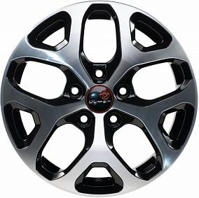 Диск Remain R174 (A 16 Corolla) 16x6,5 5x114,3 ET45 60,1 алмаз черный