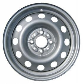 Диск Trebl 5990 14x5,5 4x108 ET34 65,1 silver