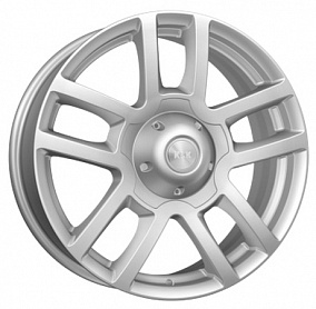 Диск КиК Калахари-Patriot 18x7,0 5x139,7 ET35 108,5 сильвер