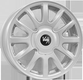 Диск КиК KC578 (Гранта Люкс) 15x6,0 4x98 ET35 58,5 сильвер
