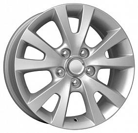 Диск КиК KC396 (Mazda-3) 16x6,5 5x114,3 ET52,5 67,1 сильвер