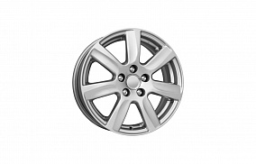 Диск КиК KC585 (Polo) 15x6,0 5x100 ET40 57,1 сильвер