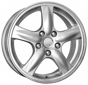 Диск КиК KC307 (Accord) 16x6,5 5x114,3 ET55 64,1 сильвер