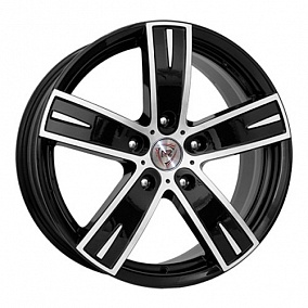 Диск NZ Wheels F-16 16x6,5 5x114,3 ET45 60,1 BKF