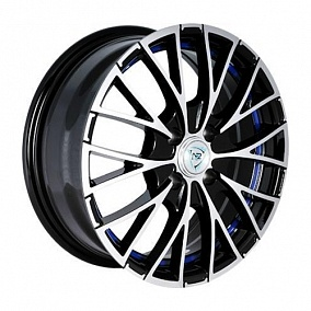 Диск NZ Wheels F-2 17x7,0 5x112 ET43 66,6 BKFBSI