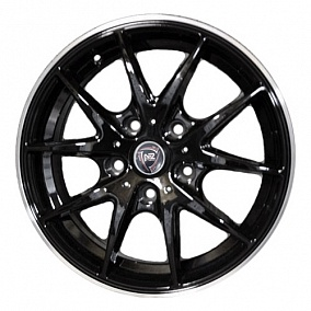 Диск NZ Wheels F-34 16x6,5 5x112 ET33 57,1 BKPL