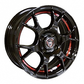 Диск NZ Wheels F-42 15x6,0 4x100 ET50 60,1 BKBSI