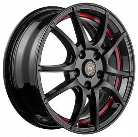 Диск NZ Wheels F-43 16x6,5 5x110 ET37 65,1 BKBSI