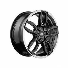 Диск NZ Wheels F-47 17x7,0 5x114,3 ET40 66,1 BKPL