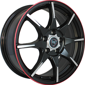 Диск NZ Wheels F-56 15x6,5 4x100 ET40 56,6 MBFRS