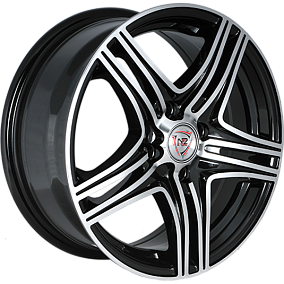 Диск NZ Wheels F-6 16x7,0 5x114,3 ET45 67,1 BKF