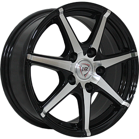Диск NZ Wheels SH580 15x6,5 5x114,3 ET40 73,1 BKF