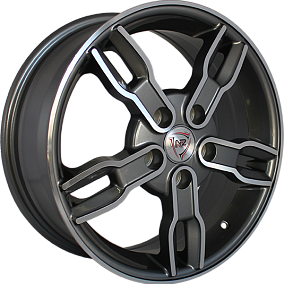 Диск NZ Wheels SH603 16x6,5 5x108 ET52,5 63,4 GMF