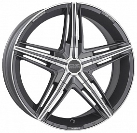 Диск OZ Racing David 17x7,5 5x112 ET35 75 matt graphite diamond