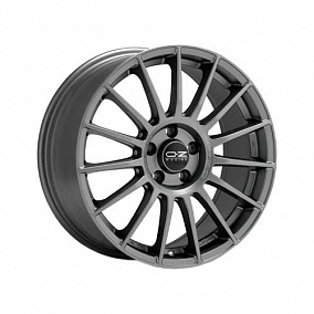 Диск OZ Racing Superturismo LM 17x7,5 5x114,3 ET45 75 matt race silver black