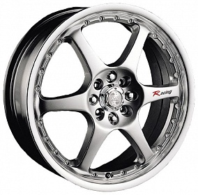 Диск Racing Wheels H-111 15x6,5 5x114,3 ET38 67,1 BK/FP