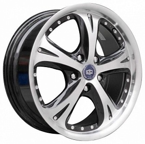 Диск TGRacing LZ007 18x7,5 5x114,3 ET52 73,1 black P