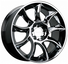Диск TGRACING LZ182 18x8,5 5x112 ET35 66,6 хром
