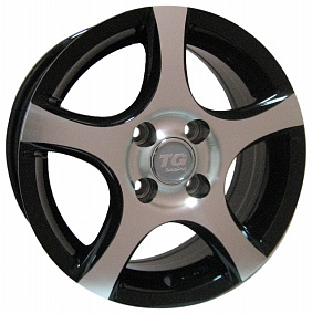 Диск TGRacing LZ200 17x7,0 5x110 ET38 65,1 gm pol