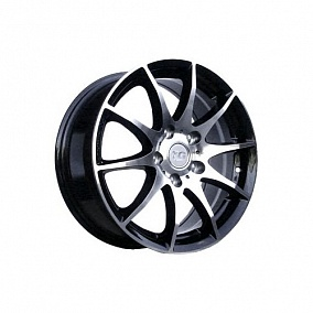 Диск TGRacing LZ203 16x7,0 5x108 ET40 67,1 matt black pol