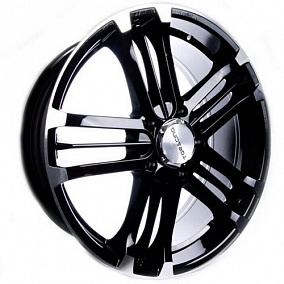 Диск TGRacing LZ332 22x9,5 5x150 ET55 110,5 blk p/lip
