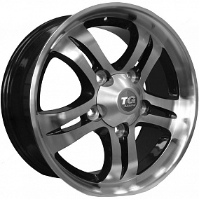Диск TGRacing LZ377 18x8,0 5x150 ET60 110,5 хром