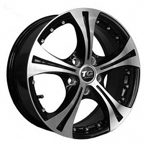 Диск TGRacing LZ385 16x6,5 5x114,3 ET45 67 gm pol