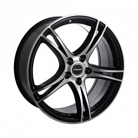 Диск TGRacing LZ392 18x8,0 5x112 ET35 73,1 matt black pol