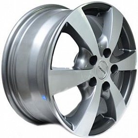 Диск TGRacing LZ597 16x6,5 5x114,3 ET50 66,1 gm pol