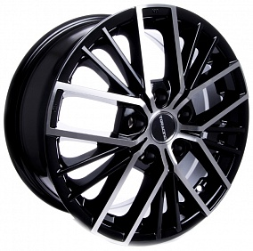 Диск TGRacing LZ742 17x7,0 5x114,3 ET45 60,1 matt black pol