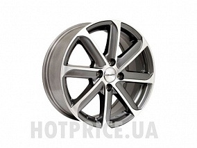 Диск TGRacing TGD021 16x6,5 4x100 ET45 67,1 gm pol