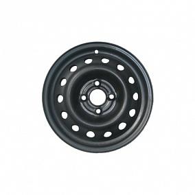 Диск Кременчугский колёсный завод Nissan Tiida 15x5,5 4x114,3 ET40 67 черный