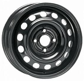 Диск Кременчугский колёсный завод RENAULT 15x6,0 4x100 ET50 60,1 черный