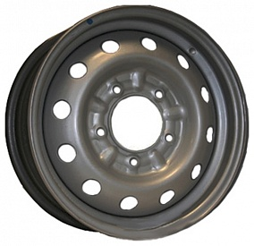 Диск Кременчугский колёсный завод Нива-CHEVROLET 15x6,0 5x139,7 ET48 98,5 белый